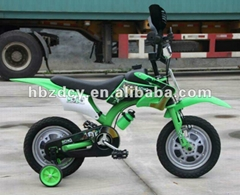 Children motorcycle style kids bicycle