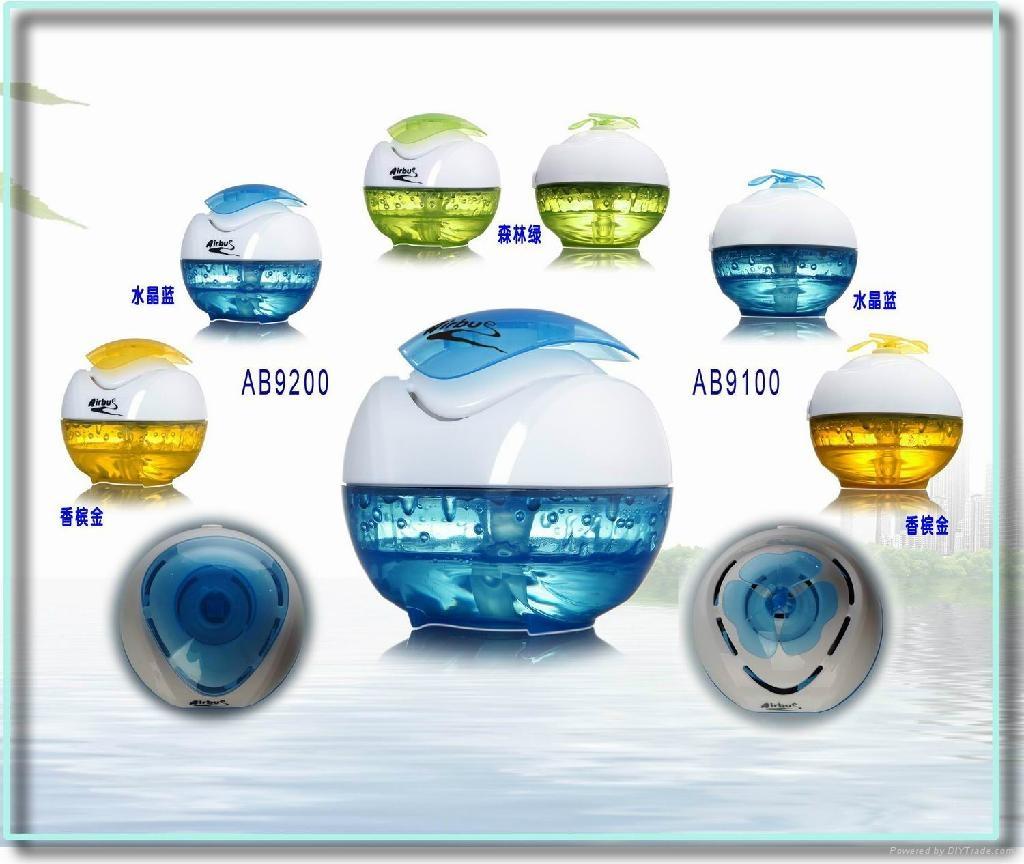 专利产品水动感自然加湿器 飘香效果 3