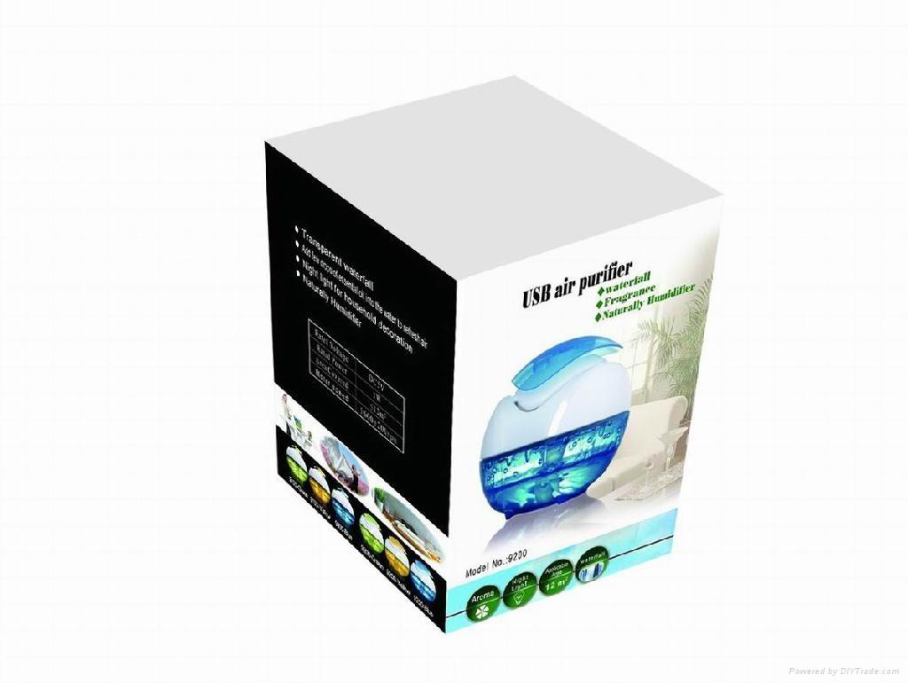 专利产品水动感自然加湿器 飘香效果 4