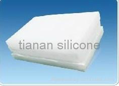 precipitated silicone rubber