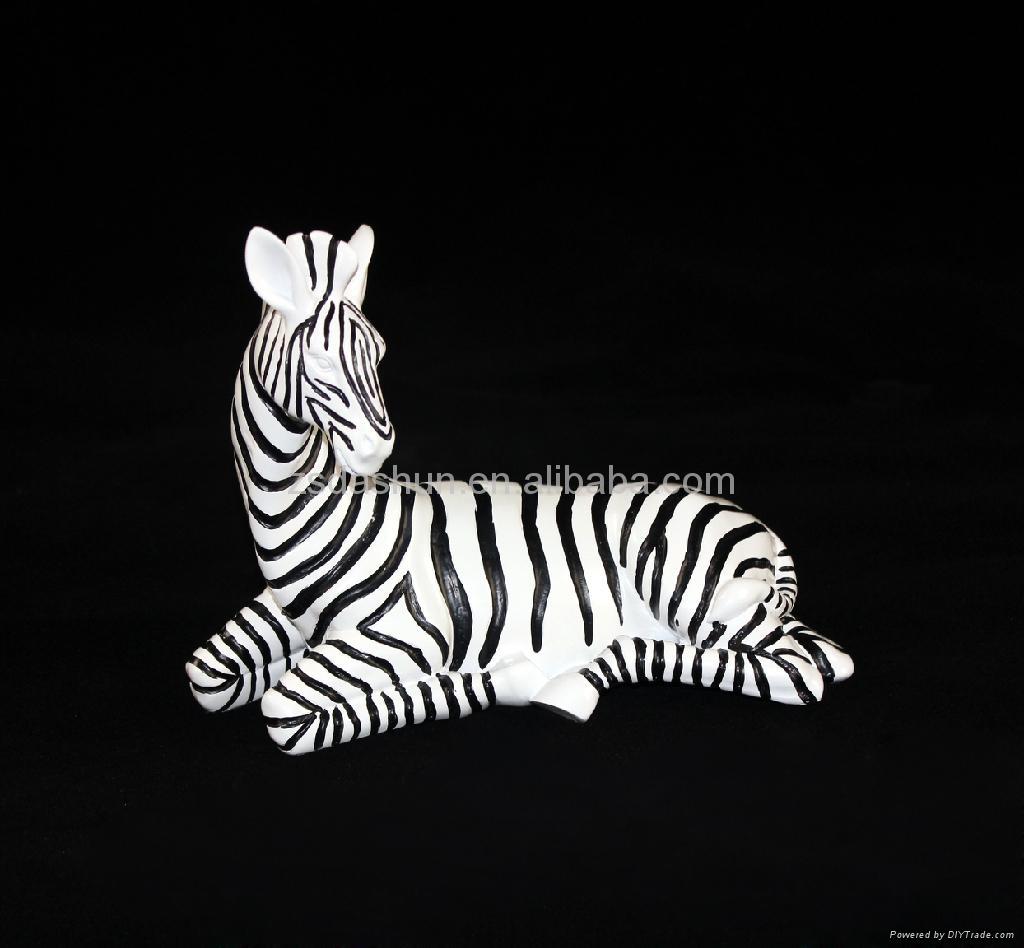 Classic Resin Zebra Figurine Home Decor Business Gifts De Ddn033