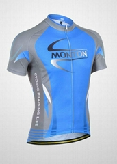 2012blue cycling clothing jersey bib shorts