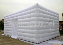 inflatable building and temporary shelter tent for party