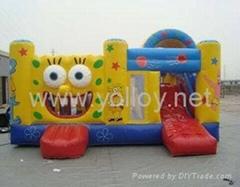 sponge bob houses bouncy castle inflatable