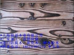 花旗松刻纹木