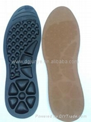 Heel pain redued inflatable massaging insole