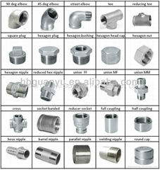 stainless steel ss304 316 threaded screwed flanged welded pipe fittings