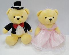 婚纱玩具对熊