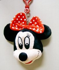 Mickey mouse animation character strap