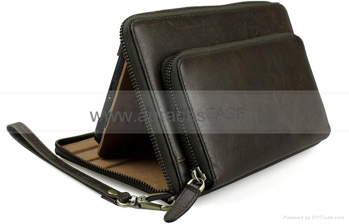 Kindle Fire Hd Leather Bag 1