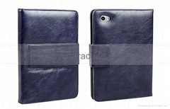 Genuine leather case for Galaxy Tab 7.7 P6800