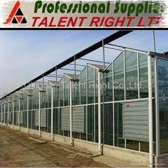 3.2mm 4mm tempered Agricuntural Greenhouse glass with CE from China