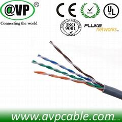 Fluke approval CCAG UTP cat5e cable