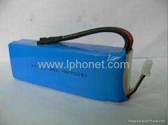 1800mAh 7.4v-22.2v 20C-45C lipo battery
