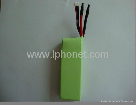 1800mAh 7.4v-22.2v 20C-45C lipo battery 3