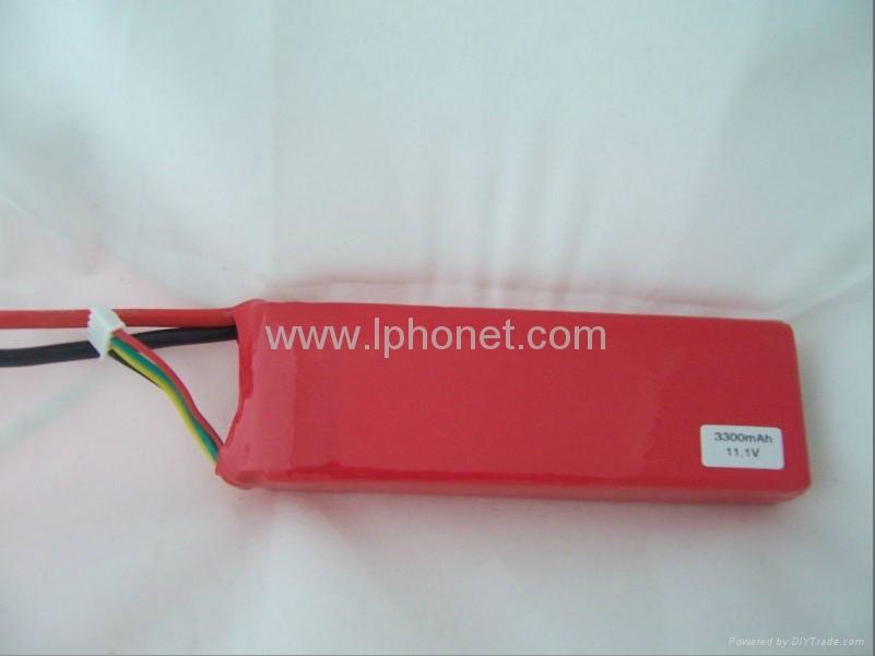 1800mAh 7.4v-22.2v 20C-45C lipo battery 2