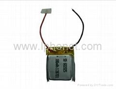 180mAh 3.7v polymer lithium battery