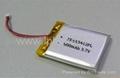 1500mAh 3.7v GPS tracking device battery 3