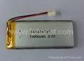 1500mAh 3.7v GPS tracking device battery 4