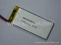 1500mAh 3.7v GPS tracking device battery 5