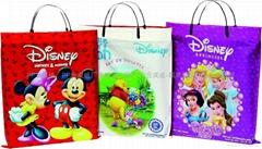 迪士尼手提购物塑料袋