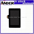 original and new Google nexus 7 LCD with digitizer full assembly for repair