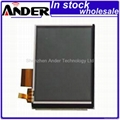 LQ038Q7DB03R Sharp lcd with touch screen digitizer assembly in stock