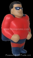 Super Hero Stress Shape/Anti-stress Super Hero