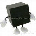 Stress Cube with Removable Arms & Legs