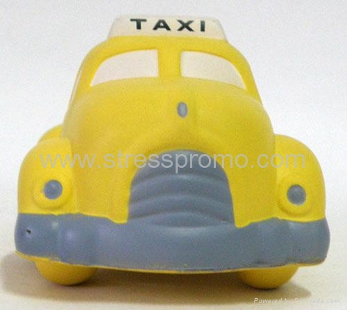 PU Taxi Shaped Stress Reliever 2