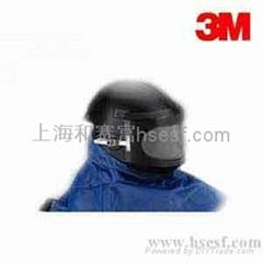 3M W-8100B 噴砂用頭盔