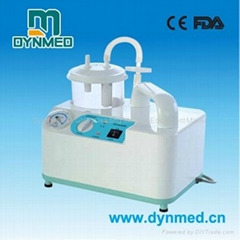 portable phlegm suction unit on desk usd for surgical use