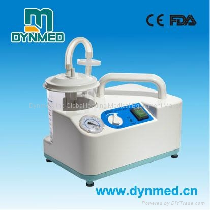 portable phlegm suction unit on desk usd for surgical use 2