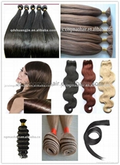 high quality 100% human hair