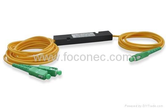 fiber optic coupler (fused splitter) 1