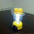 Rechargeable LED Camping Lantern with FM Radio