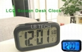 LCD Screen Digital Desk Alarm Clock
