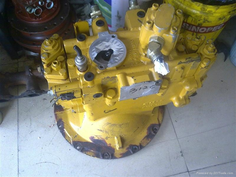 Caterpillar E312C Hydraulic Main Pump 2