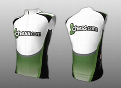 OEM Custom Cycling Sleeveless-jersey