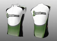 OEM Custom Cycling Sleeveless-jersey