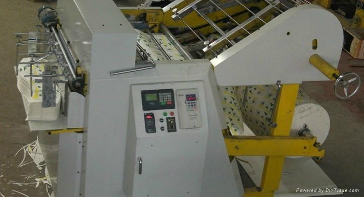 Full automatic gravure-flexo-switching printing and die cutting machine 1