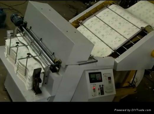Full automatic gravure-flexo-switching printing and die cutting machine 2