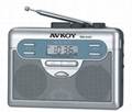 AM/FM Digital radio cassette recorder with Auto reverse(Walkman)