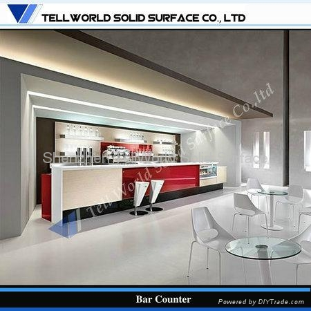 artificial stone solid surface american style bar counter tw pact 005 tw oem china. Black Bedroom Furniture Sets. Home Design Ideas