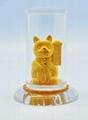 Cover 99.9% gold car perfume bottle 5