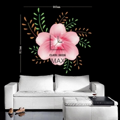 Wall decals PVC self-adhensive wall sticker diy wall clock