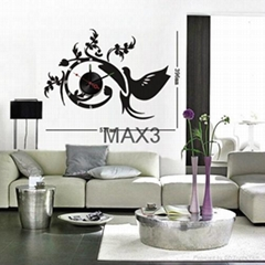 Wall decals diy wall sticker clock