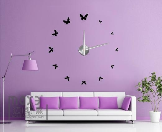 Home Decoration 3D EVA Wall Sticker Diy Wall Clock 1 ...