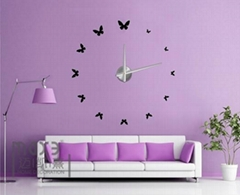 Home decoration 3D EVA wall sticker diy wall clock
