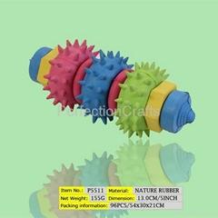 Rubber pet toys